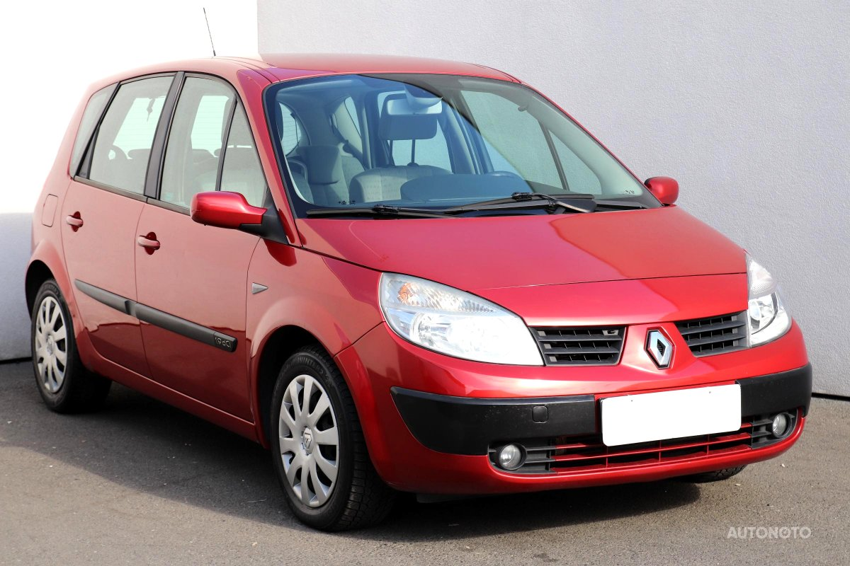 Renault Scénic, 2005 - celkový pohled