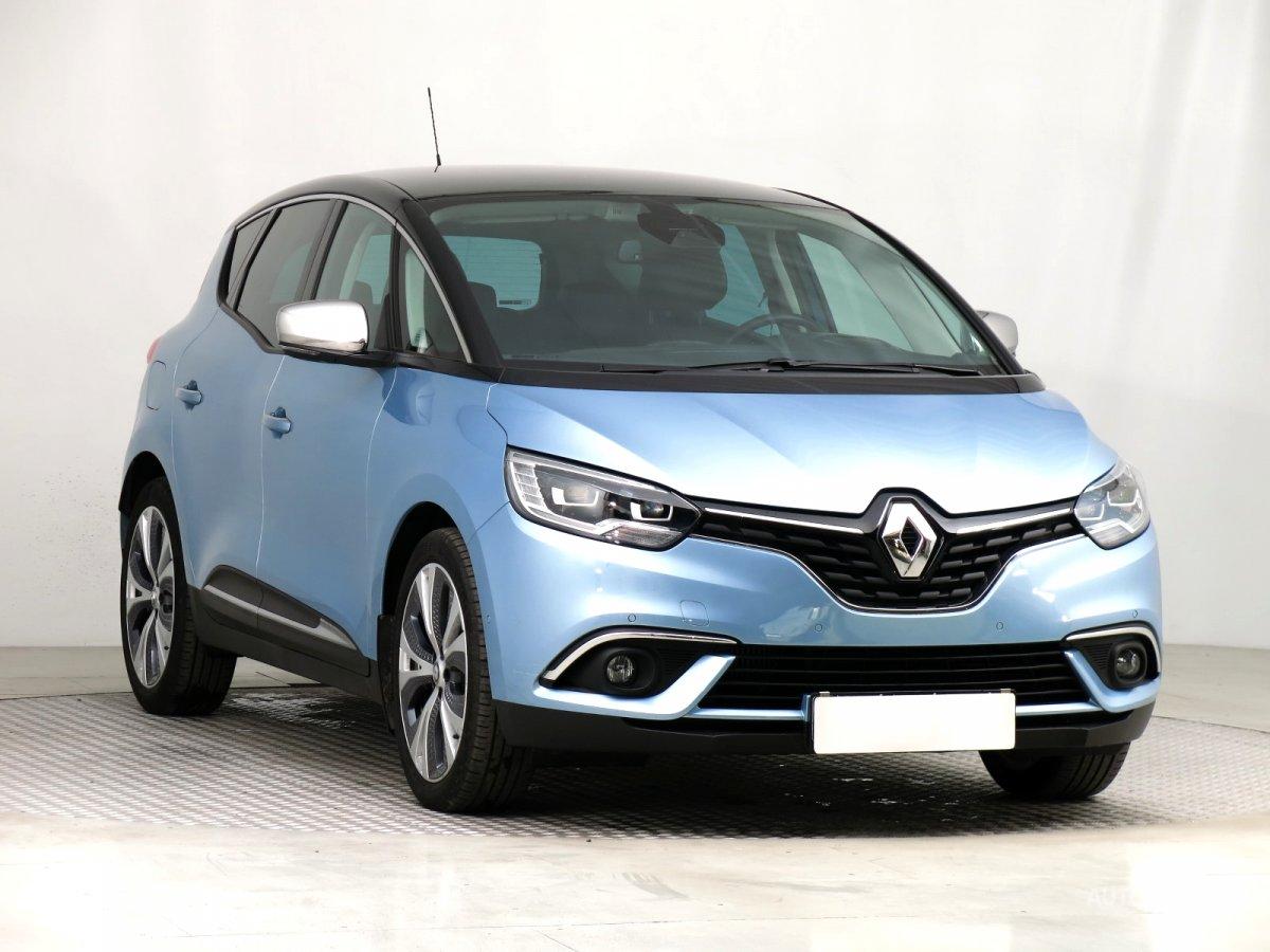 Renault Scénic, 2017 - celkový pohled