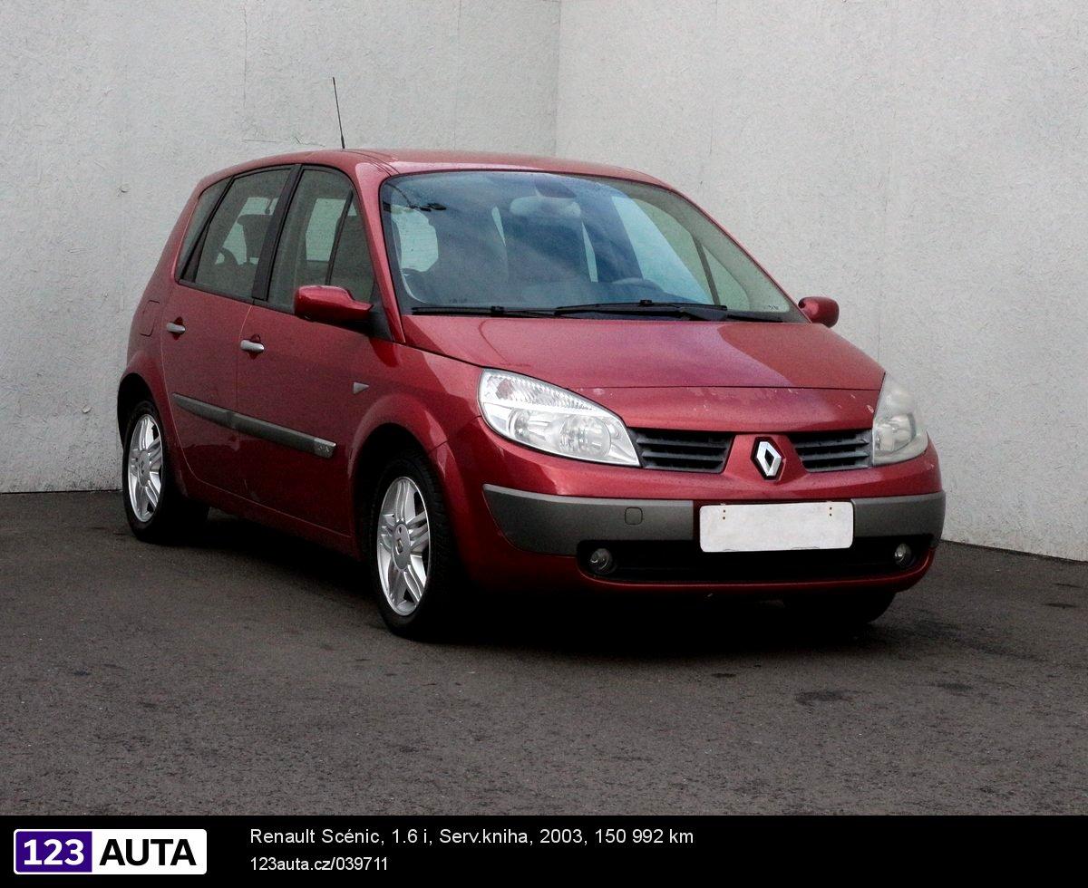 Renault Scénic, 2003 - celkový pohled