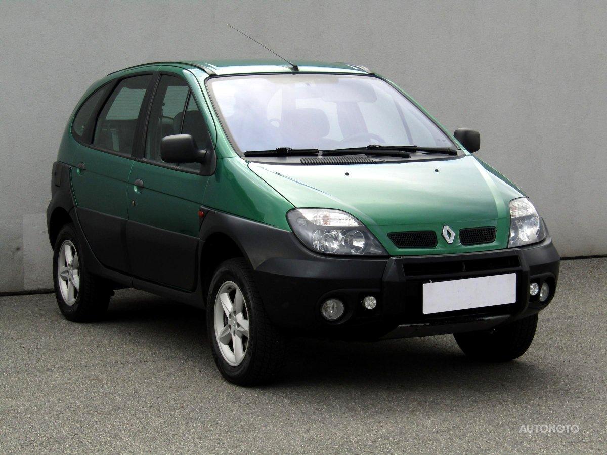 Renault Scénic, 2000 - celkový pohled