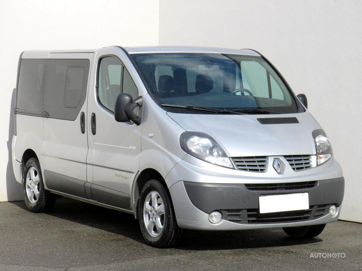 Renault Trafic, 2012 - celkový pohled