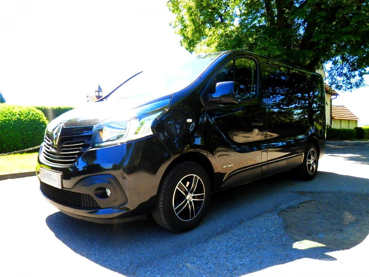 Renault Trafic, 2016 - celkový pohled