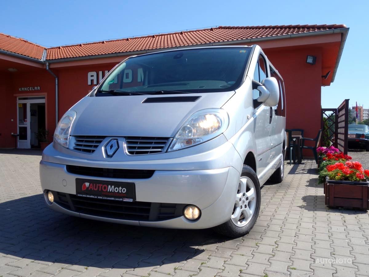 Renault Trafic, 2007 - celkový pohled