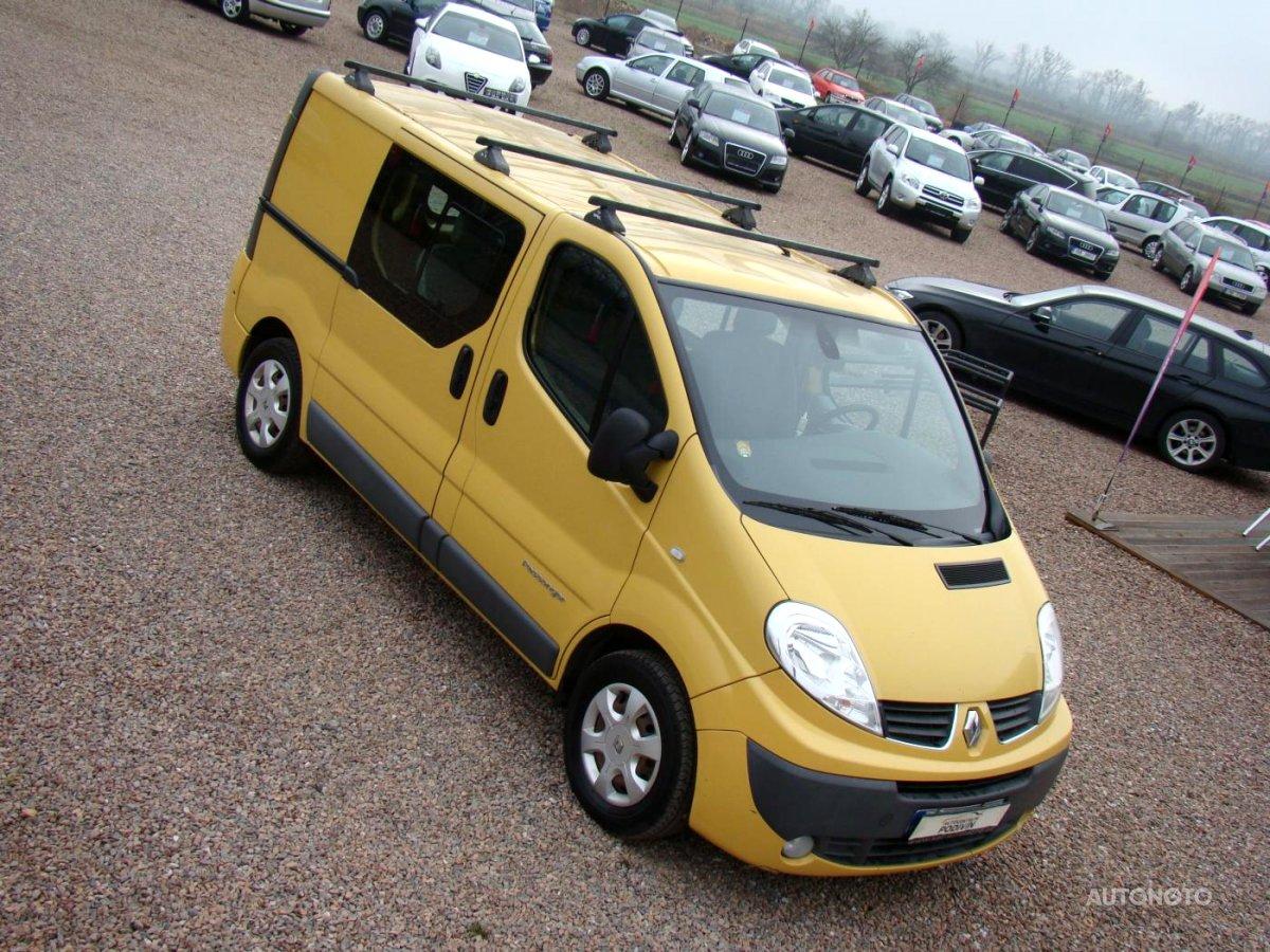 Renault Trafic, 2010 - celkový pohled