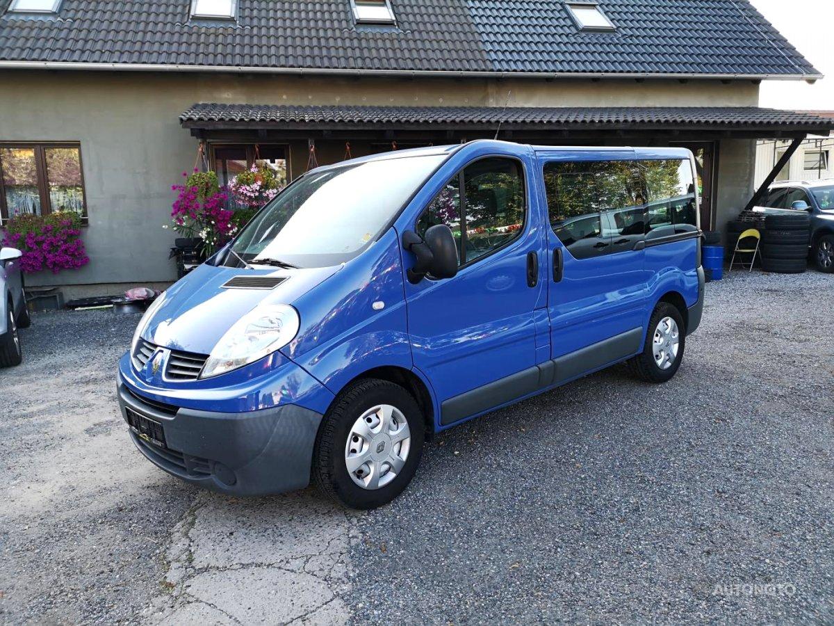 Renault Trafic, 2009 - celkový pohled