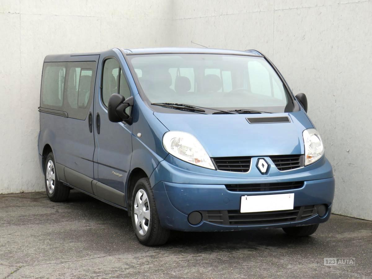 Renault Trafic, 2008 - celkový pohled