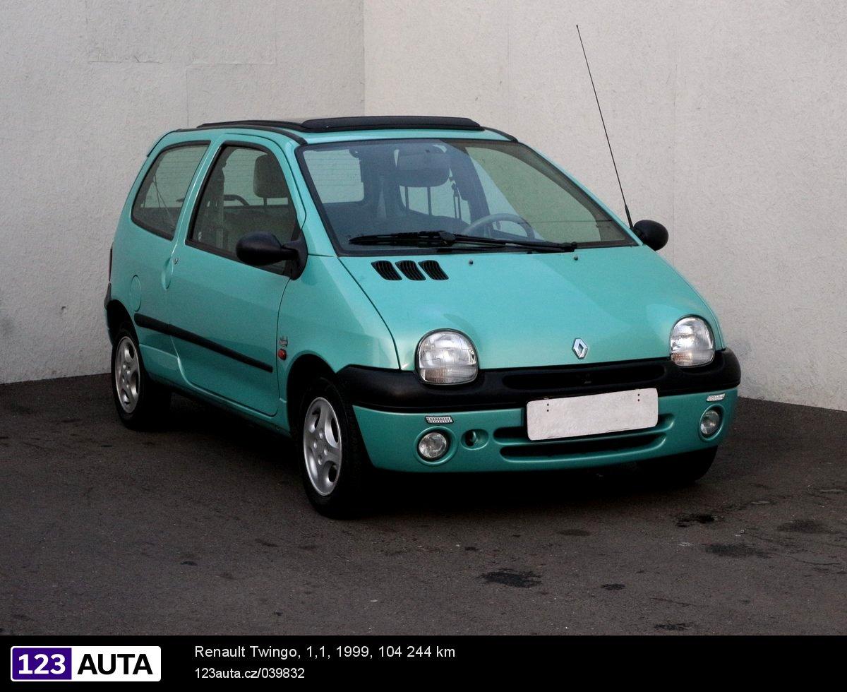 Renault Twingo, 1999 - celkový pohled
