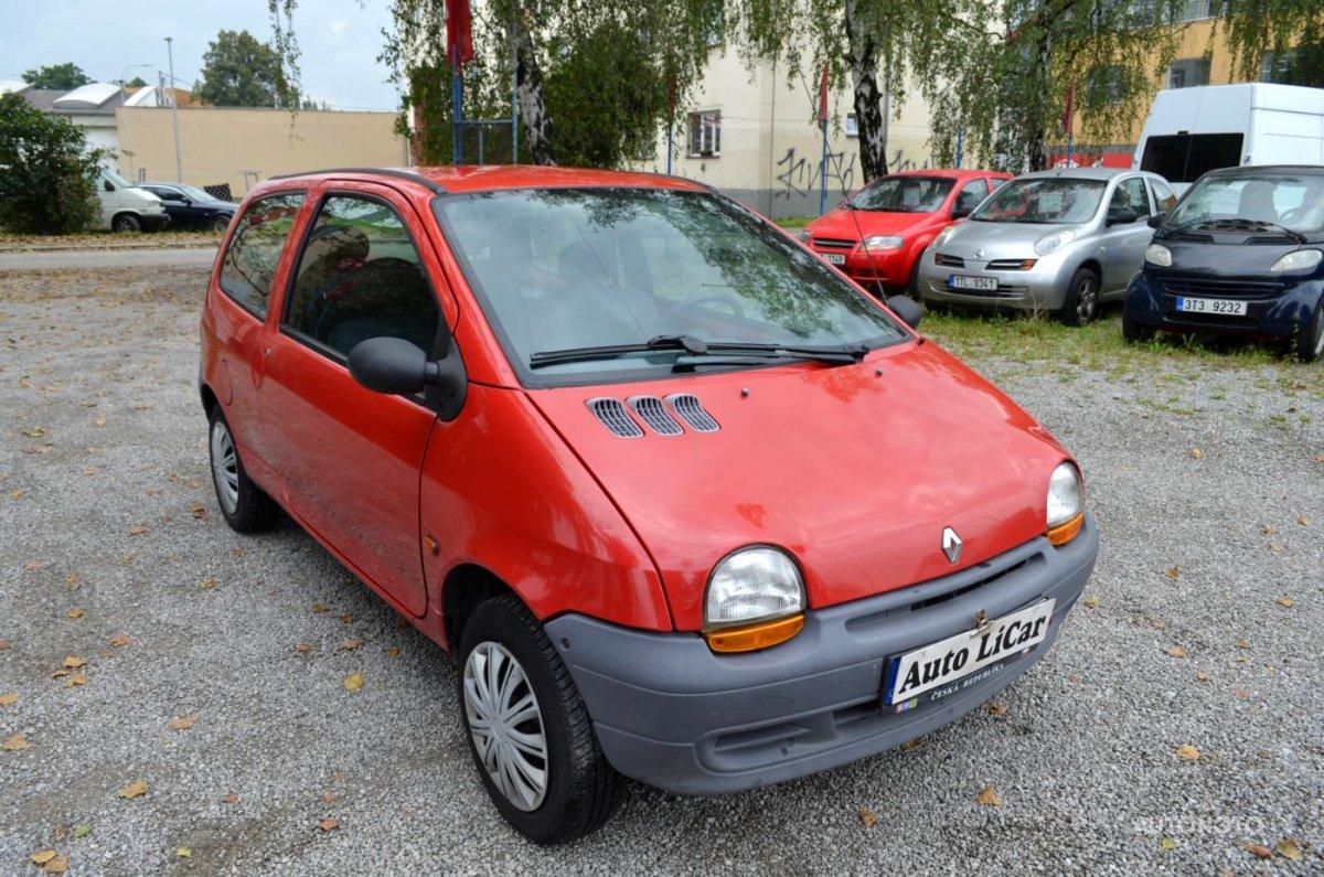 Renault Twingo, 1997 - celkový pohled