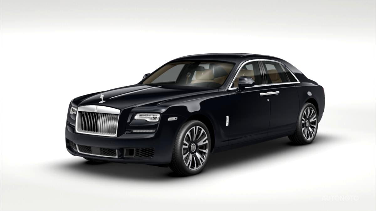 Rolls Royce Ghost, 2018 - celkový pohled