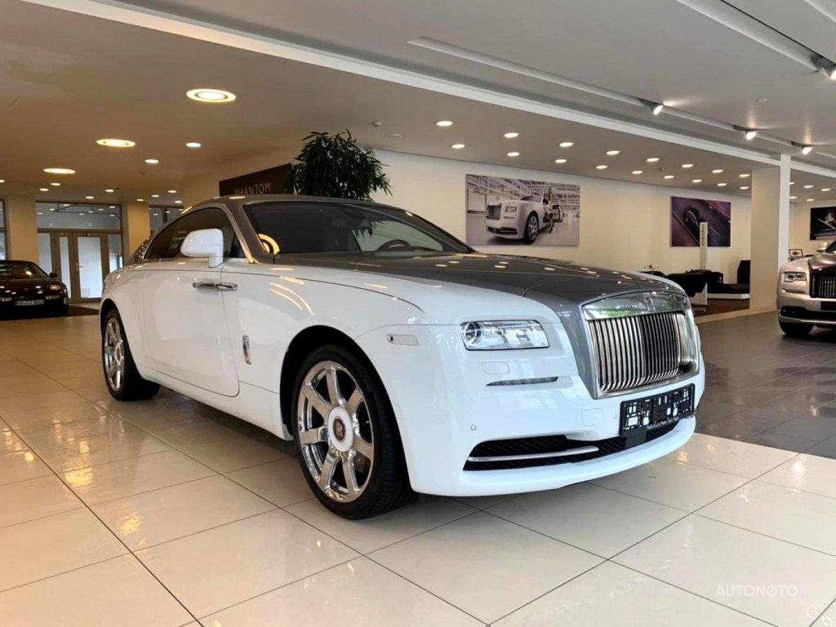 Rolls Royce Wraith, 2015 - celkový pohled