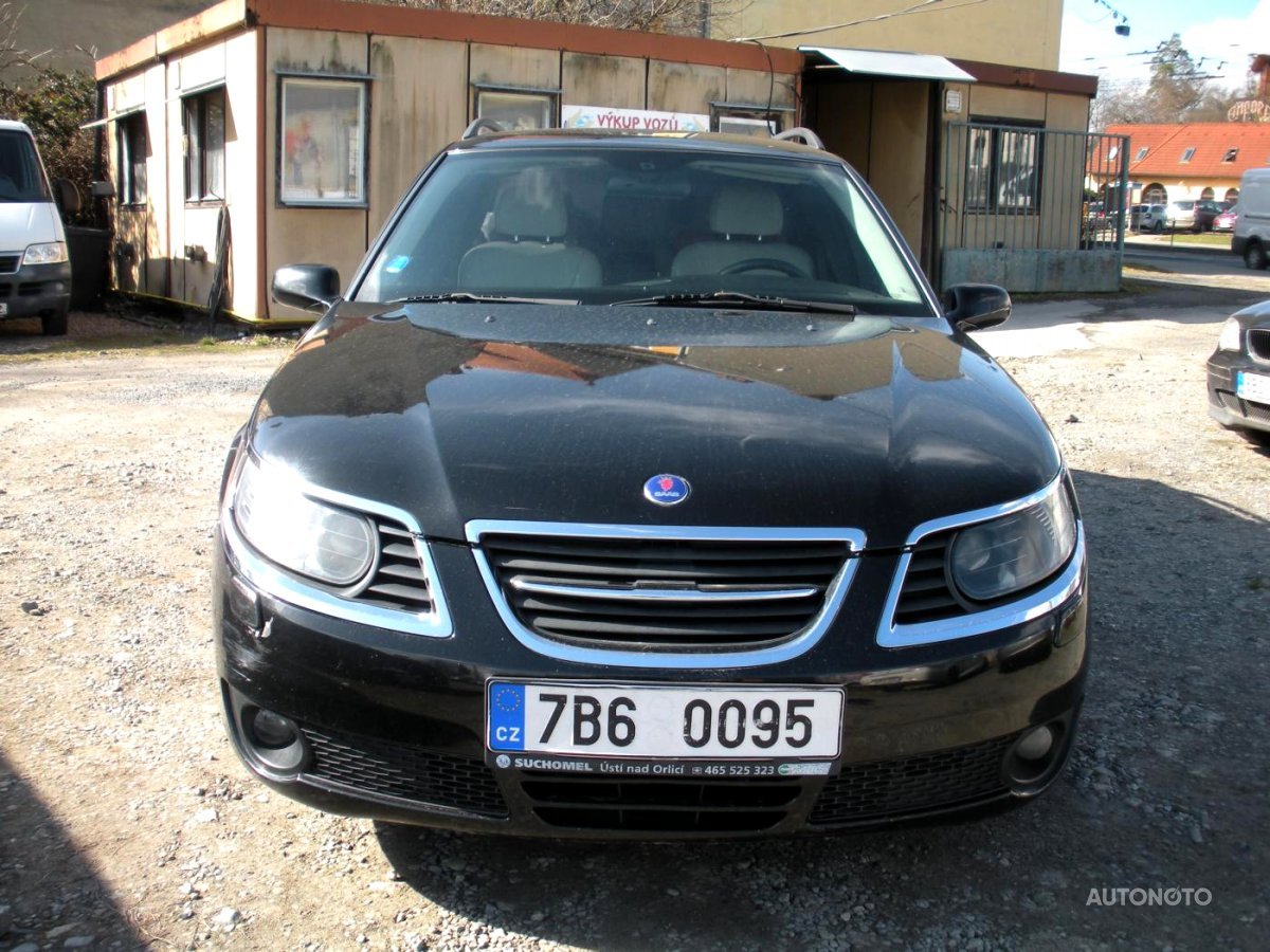 Saab 9-5, 2006 - celkový pohled