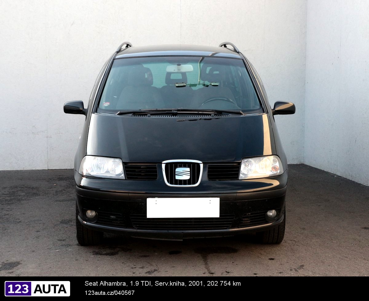 Seat alhambra 2001 pohled 2