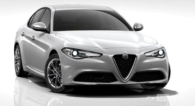 Alfa Romeo Giulia, 2017 - celkový pohled