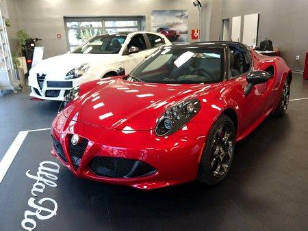 Alfa Romeo 4C, 2016