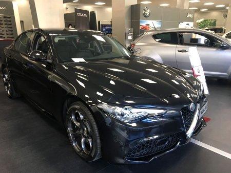 Alfa Romeo Giulia, 2017