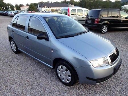 Škoda Fabia 1,4MPi ,4x airbag,, 2002