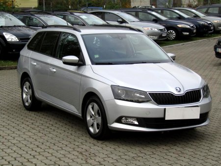 Škoda Fabia III, 2015