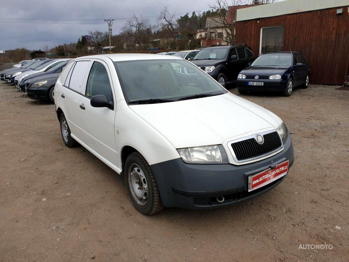 Škoda Fabia Praktik, 2003 - celkový pohled