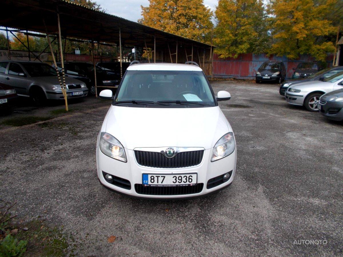 Škoda Fabia Praktik, 2008 - celkový pohled