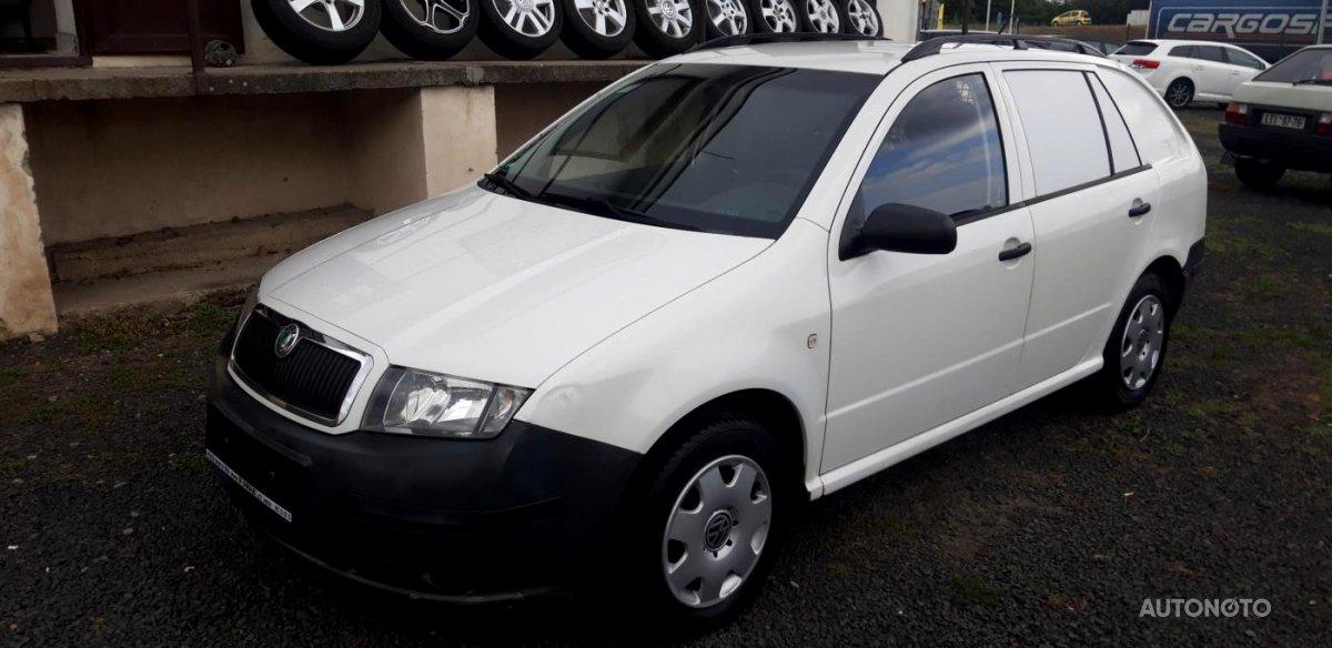 Škoda Fabia Praktik, 2005 - celkový pohled