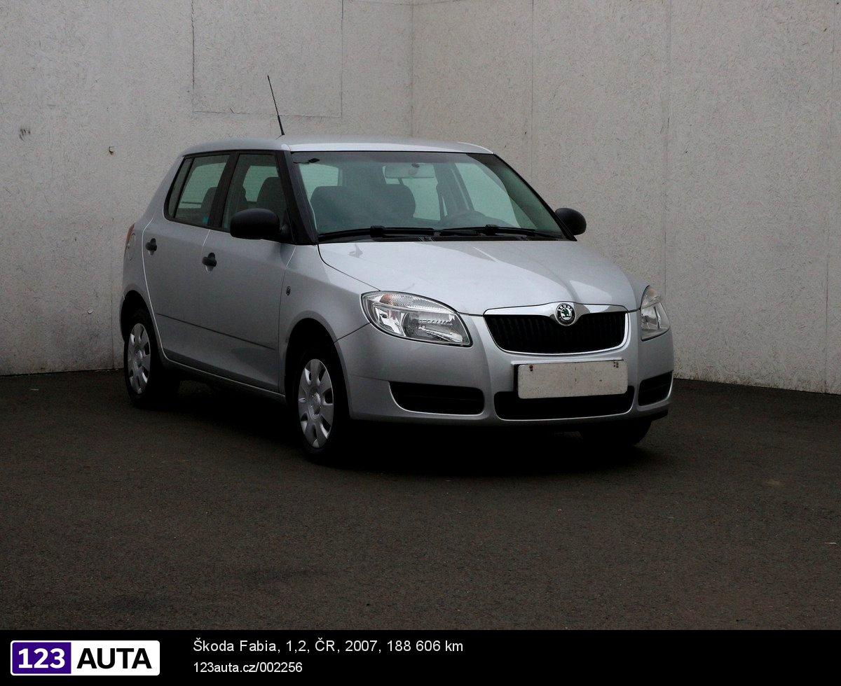 Škoda Fabia II, 2007 - celkový pohled