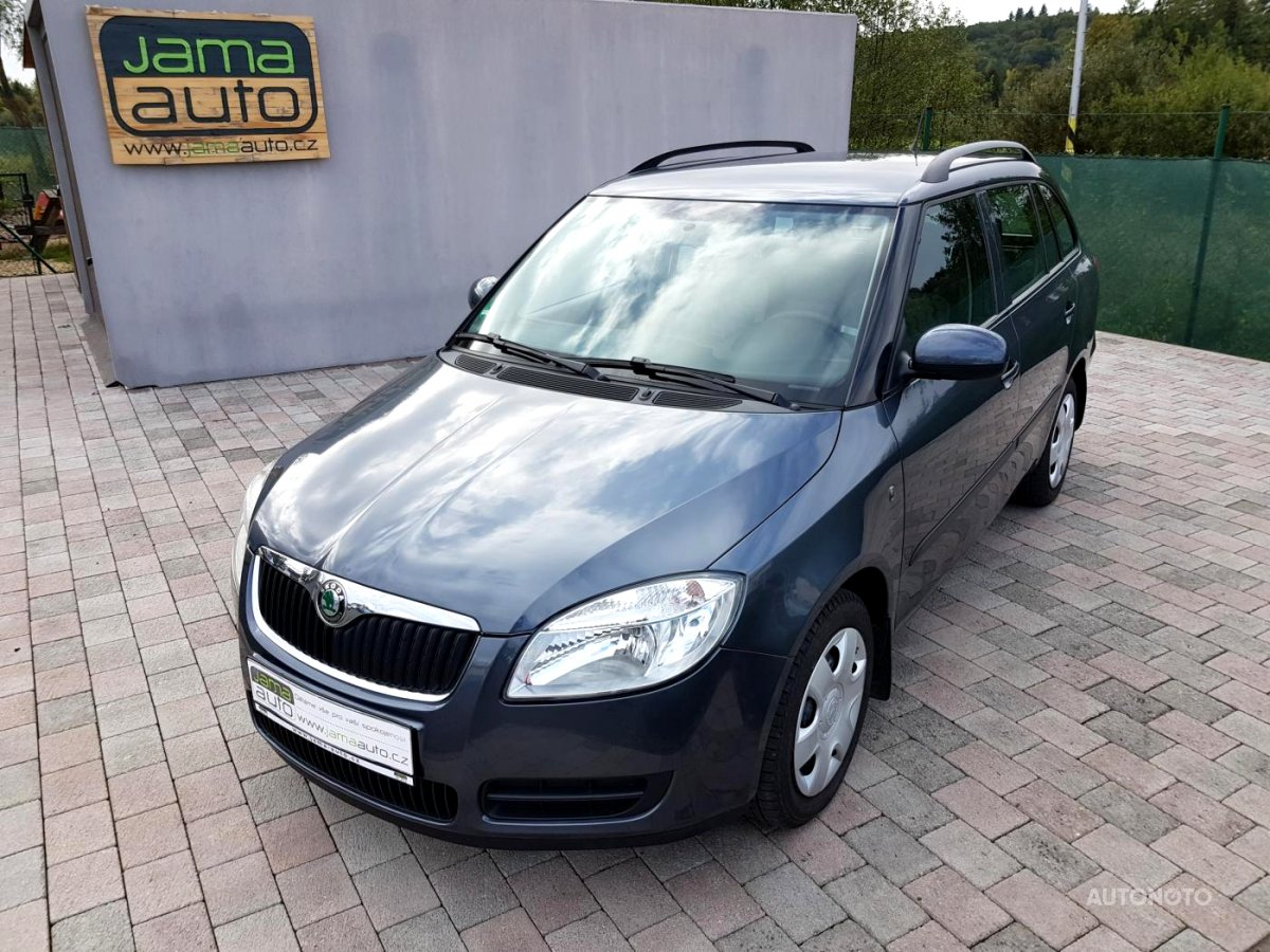 Škoda Fabia, 2009 - celkový pohled
