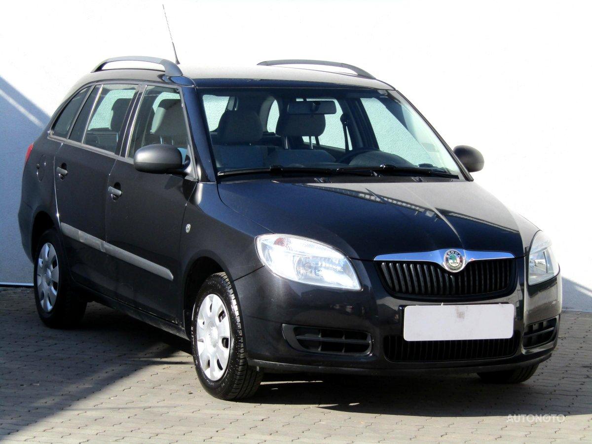 Škoda Fabia, 2008 - celkový pohled