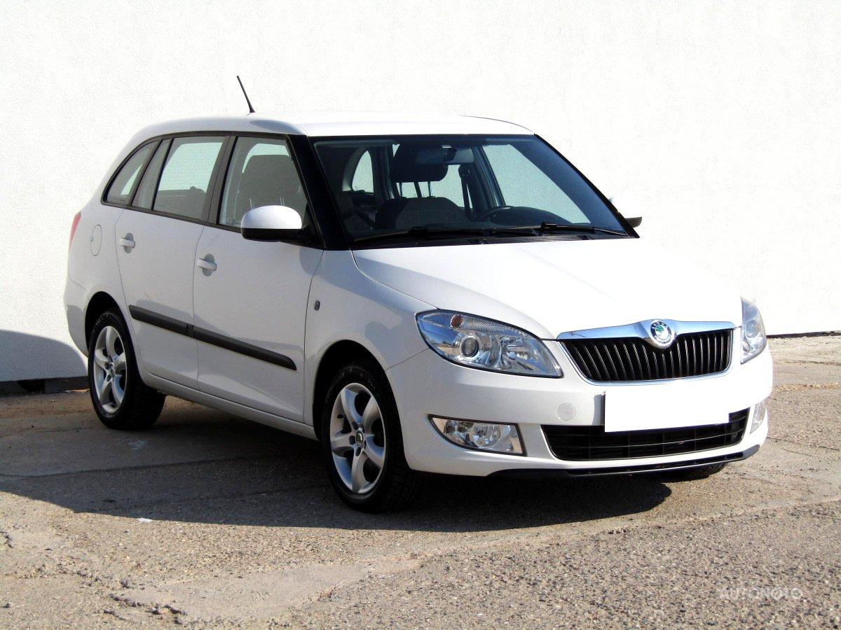 Škoda Fabia, 2011 - celkový pohled