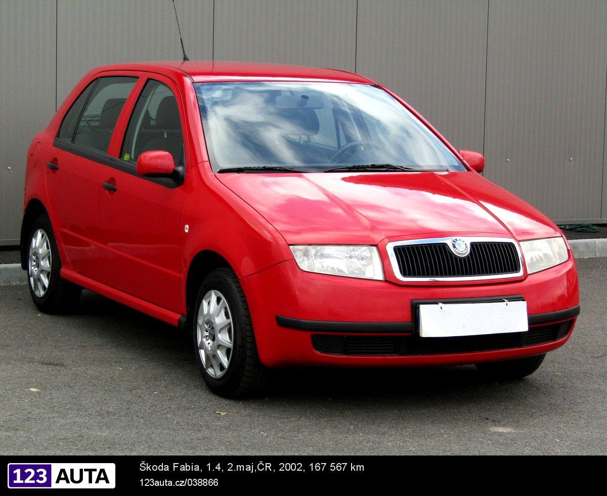 Škoda Fabia I, 2002 - celkový pohled