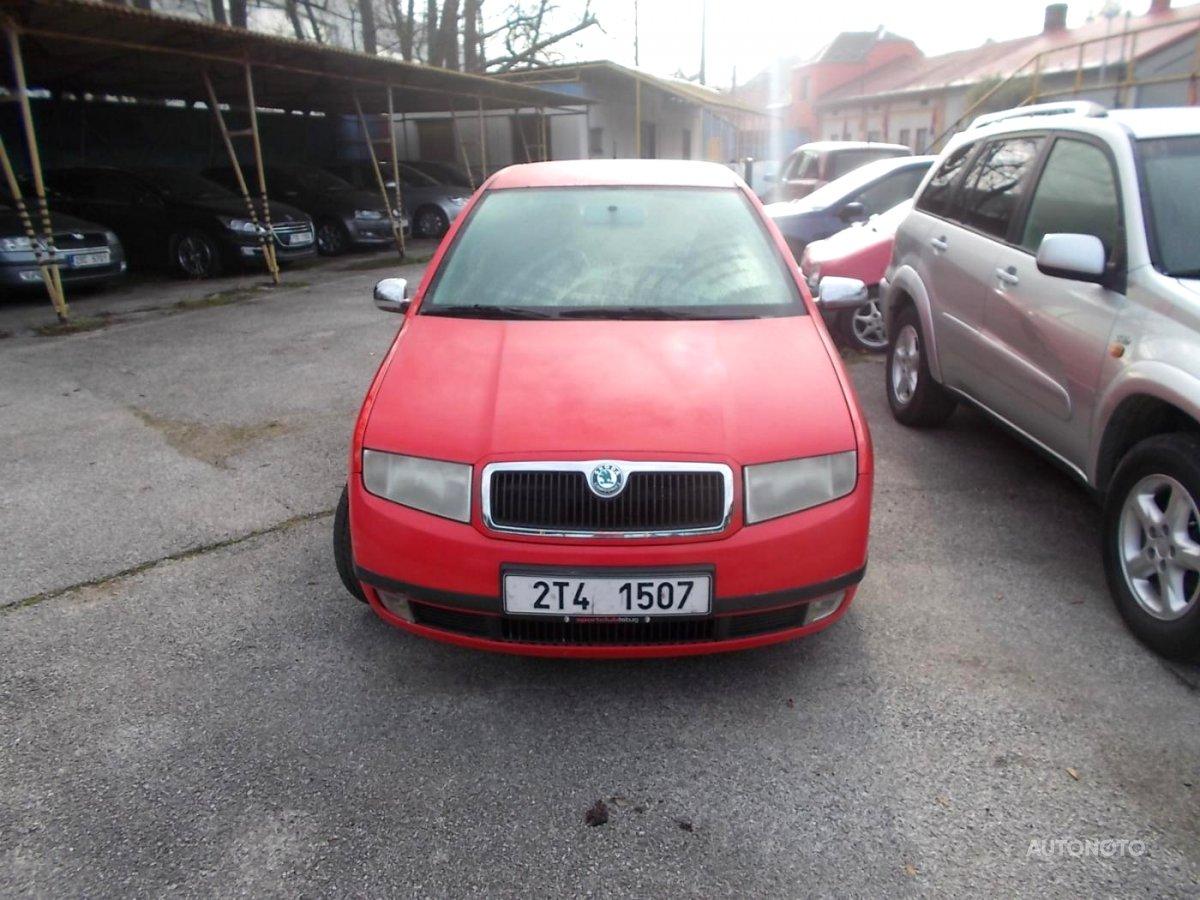 Škoda Fabia, 2001 - celkový pohled