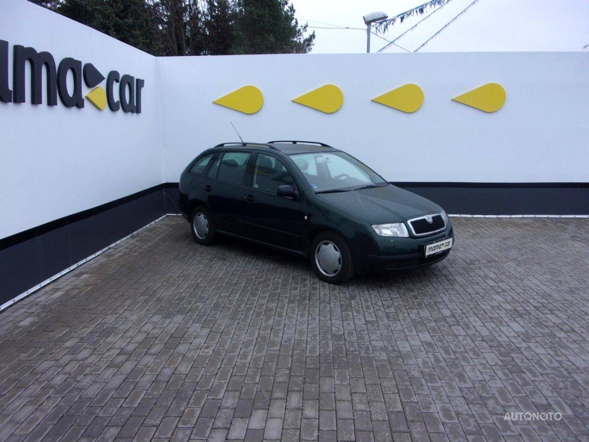 Škoda Fabia, 2000 - celkový pohled