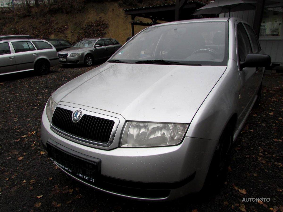 Škoda Fabia, 2002 - celkový pohled