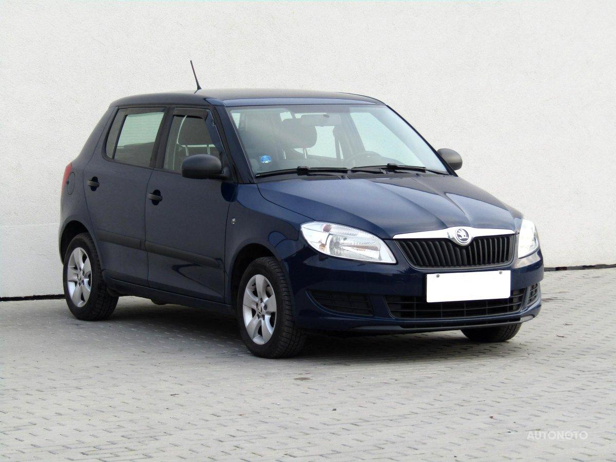 Škoda Fabia, 2012 - celkový pohled