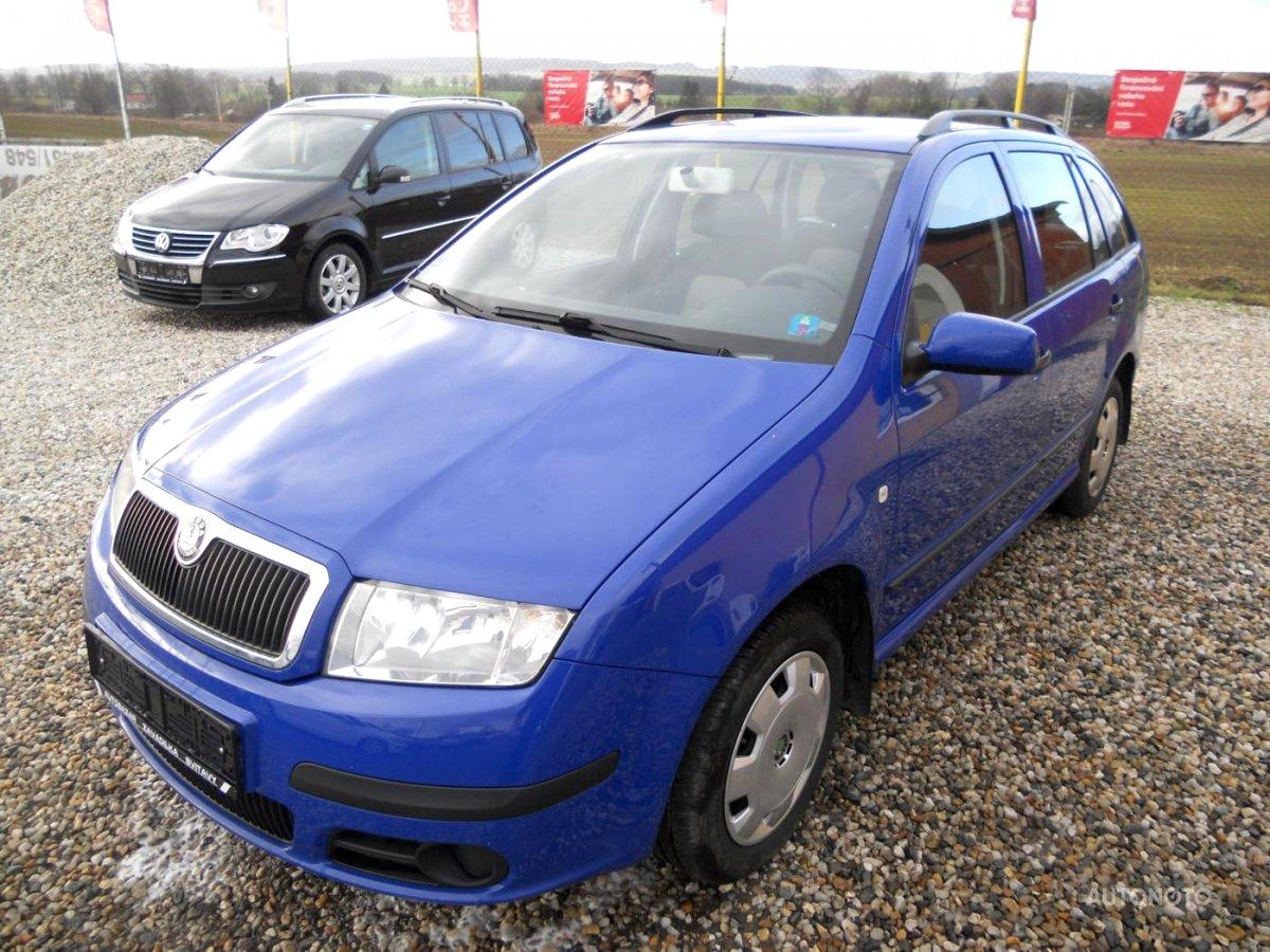 Škoda Fabia, 2007 - celkový pohled