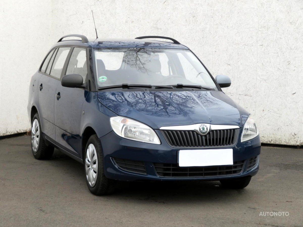 Škoda Fabia, 2010 - celkový pohled
