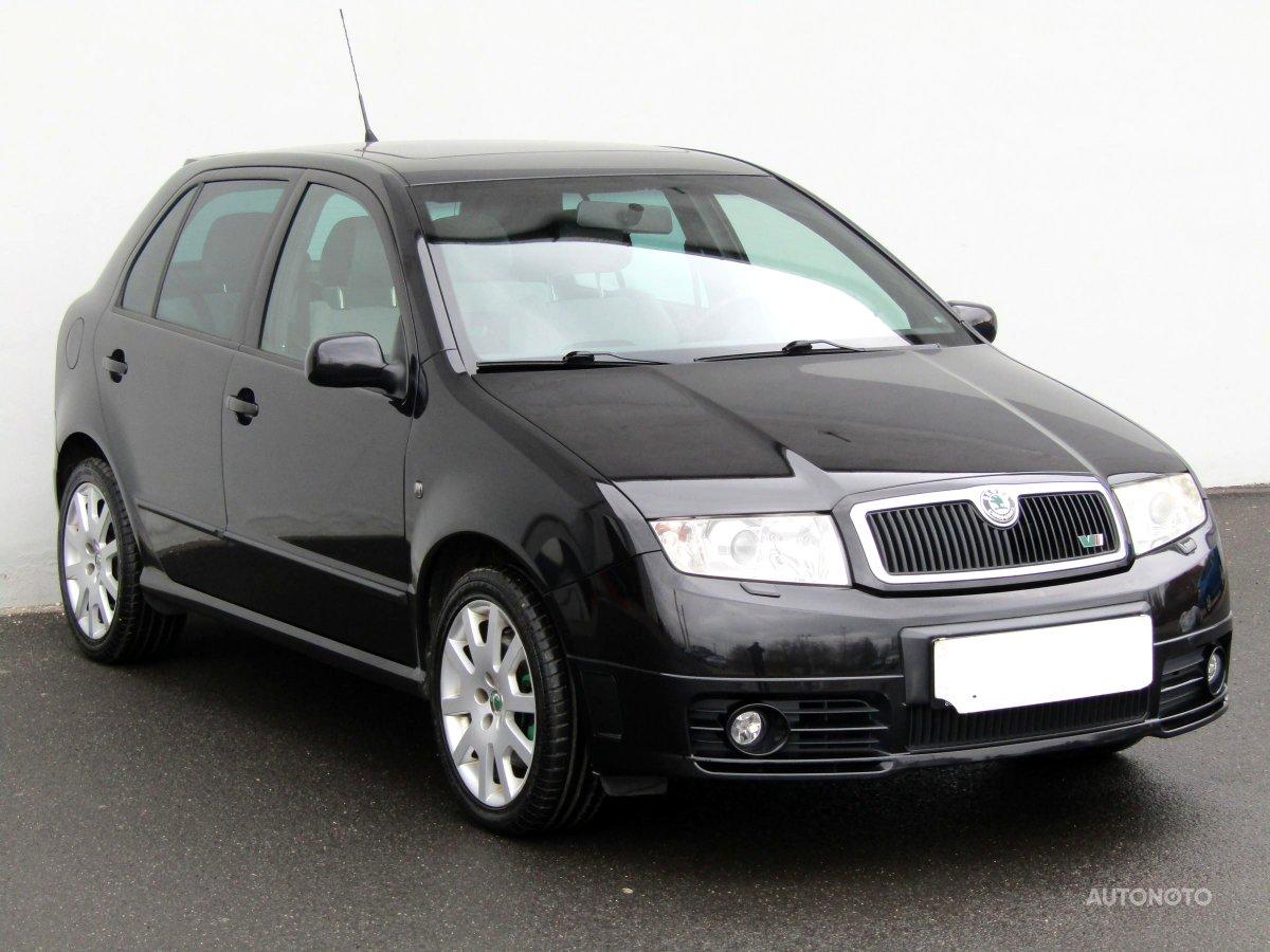 Škoda Fabia, 2006 - celkový pohled