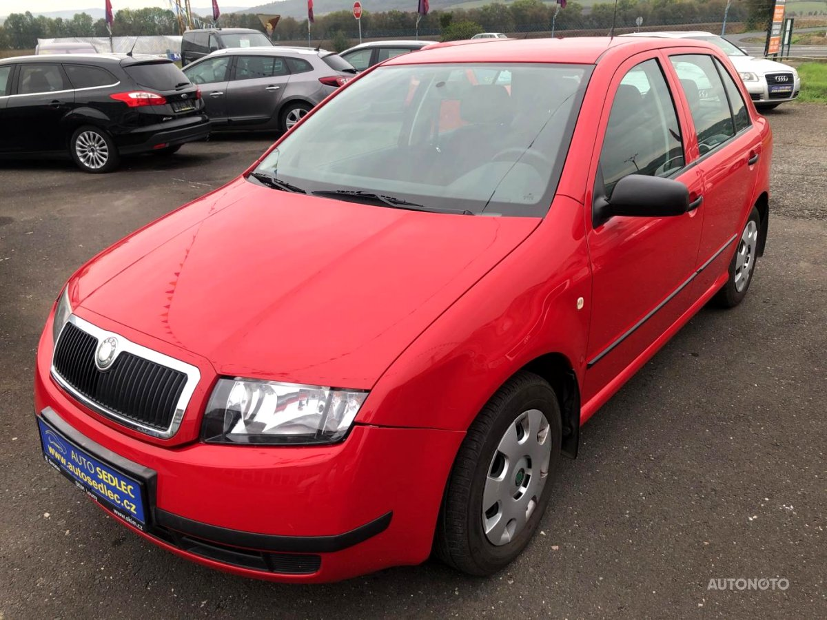 Škoda Fabia, 2003 - celkový pohled