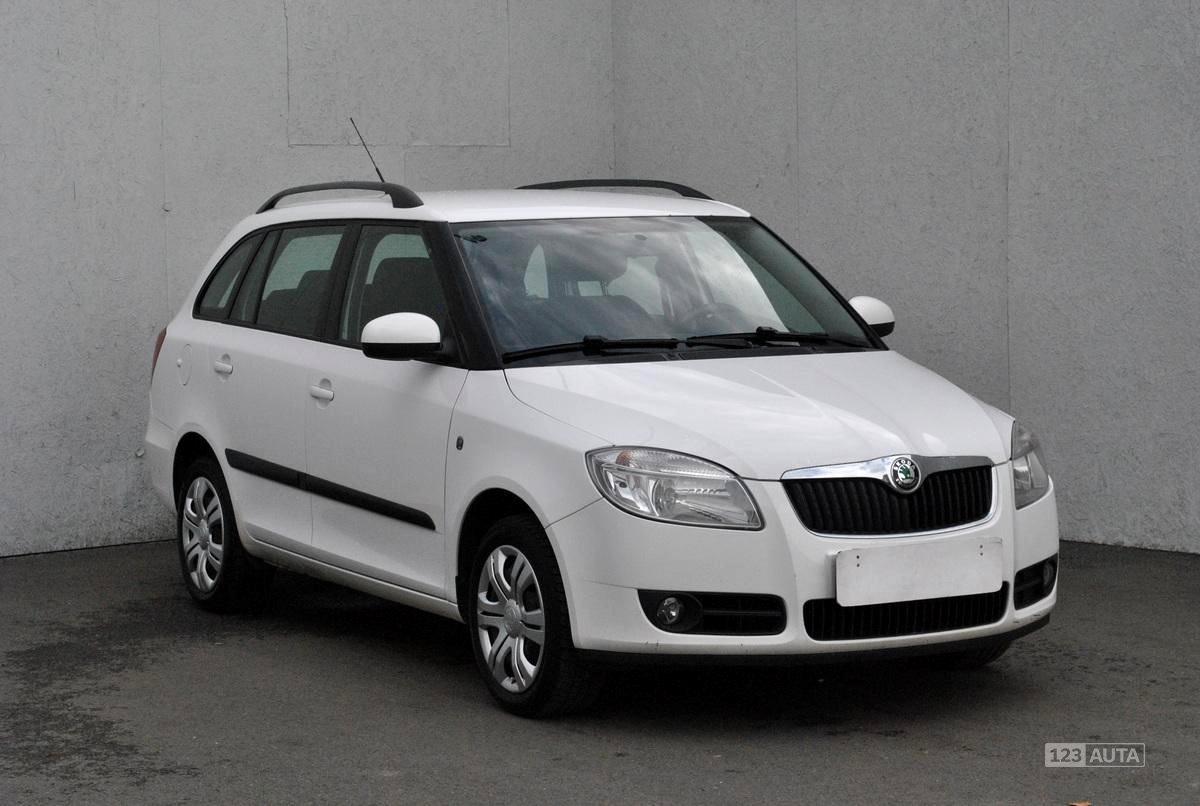 Škoda Fabia II, 2008 - celkový pohled