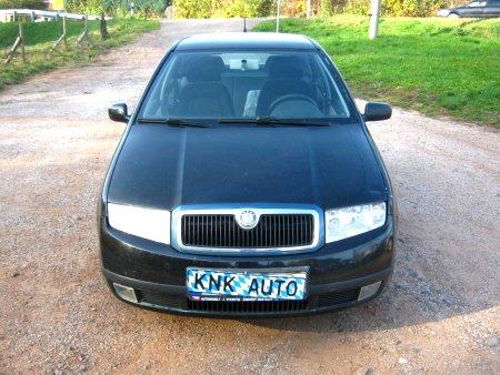 Škoda Fabia, 2001