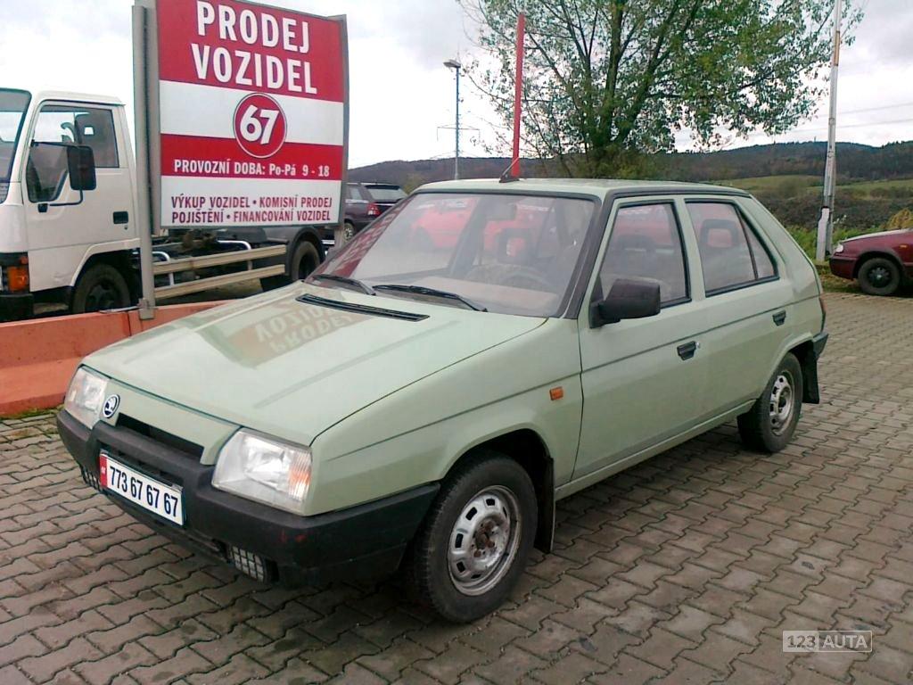 Škoda Favorit, 1990 - celkový pohled