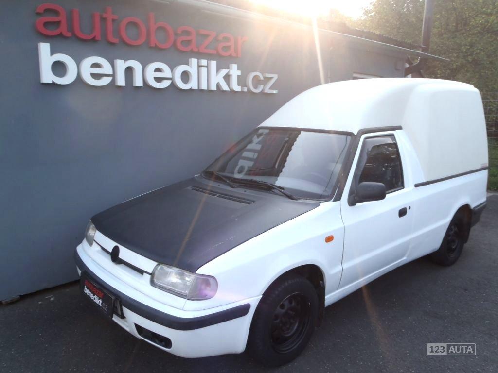 Škoda Felicia Pick-Up, 1997 - celkový pohled