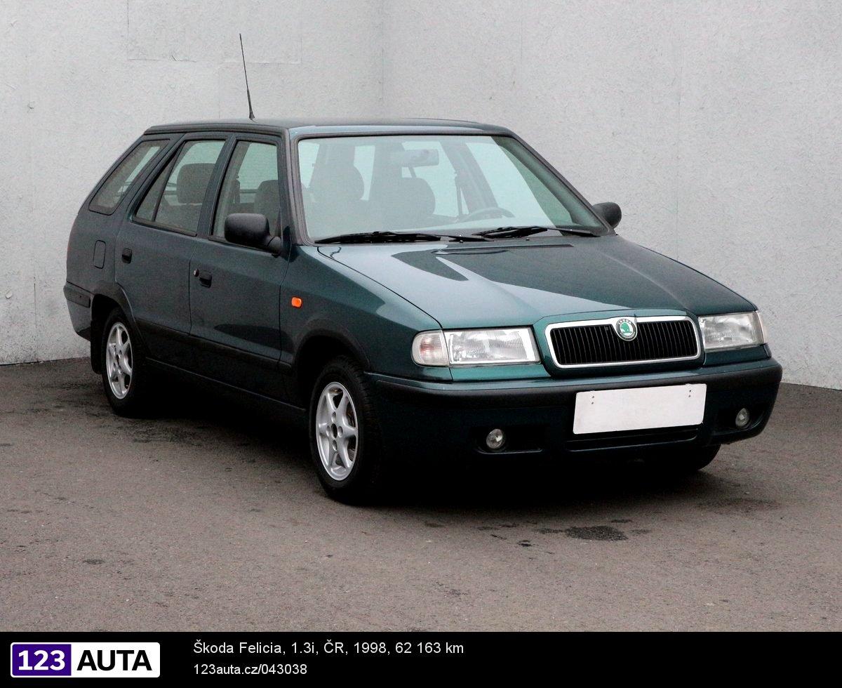 Škoda Felicia, 1998 - celkový pohled