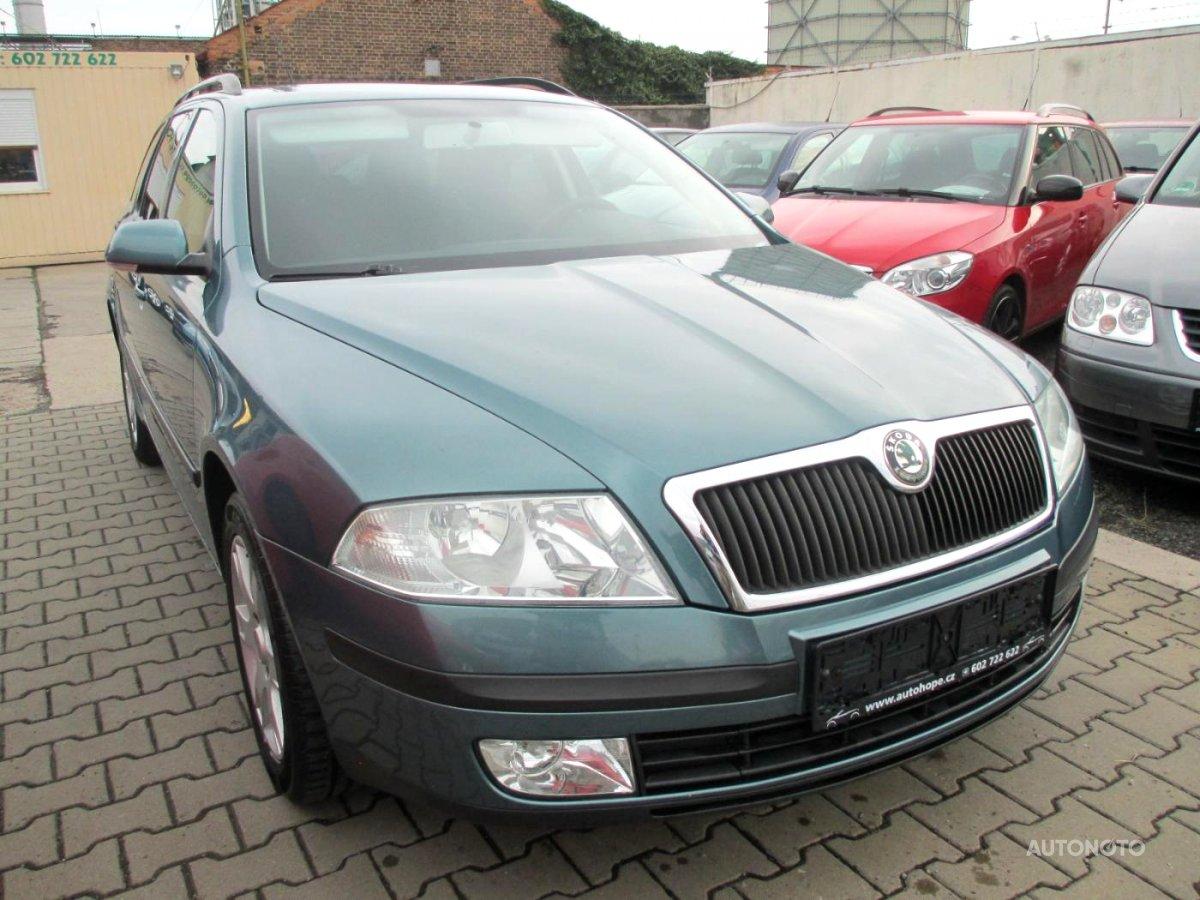 Škoda Octavia, 2006 - celkový pohled