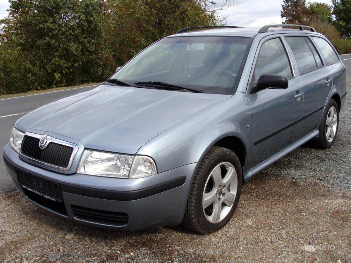 Škoda Octavia, 2004 - celkový pohled