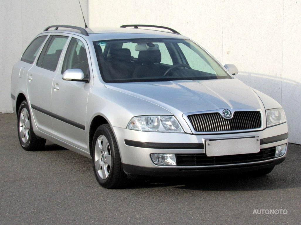 Škoda Octavia II, 2004 - celkový pohled