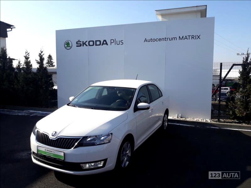 Škoda Rapid, 2016 - celkový pohled