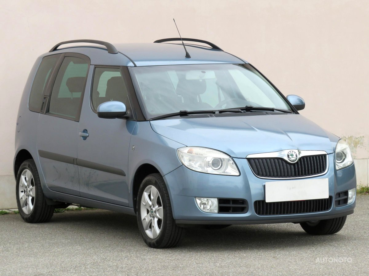 Škoda Roomster, 2007 - celkový pohled