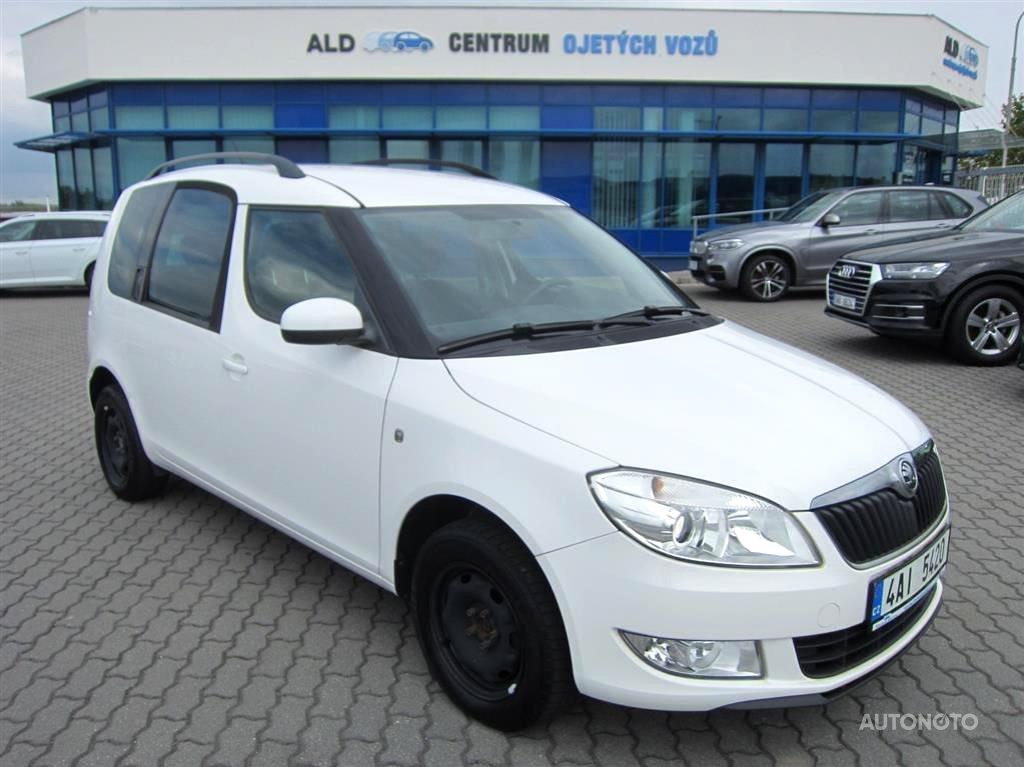 Škoda Roomster, 2014 - celkový pohled