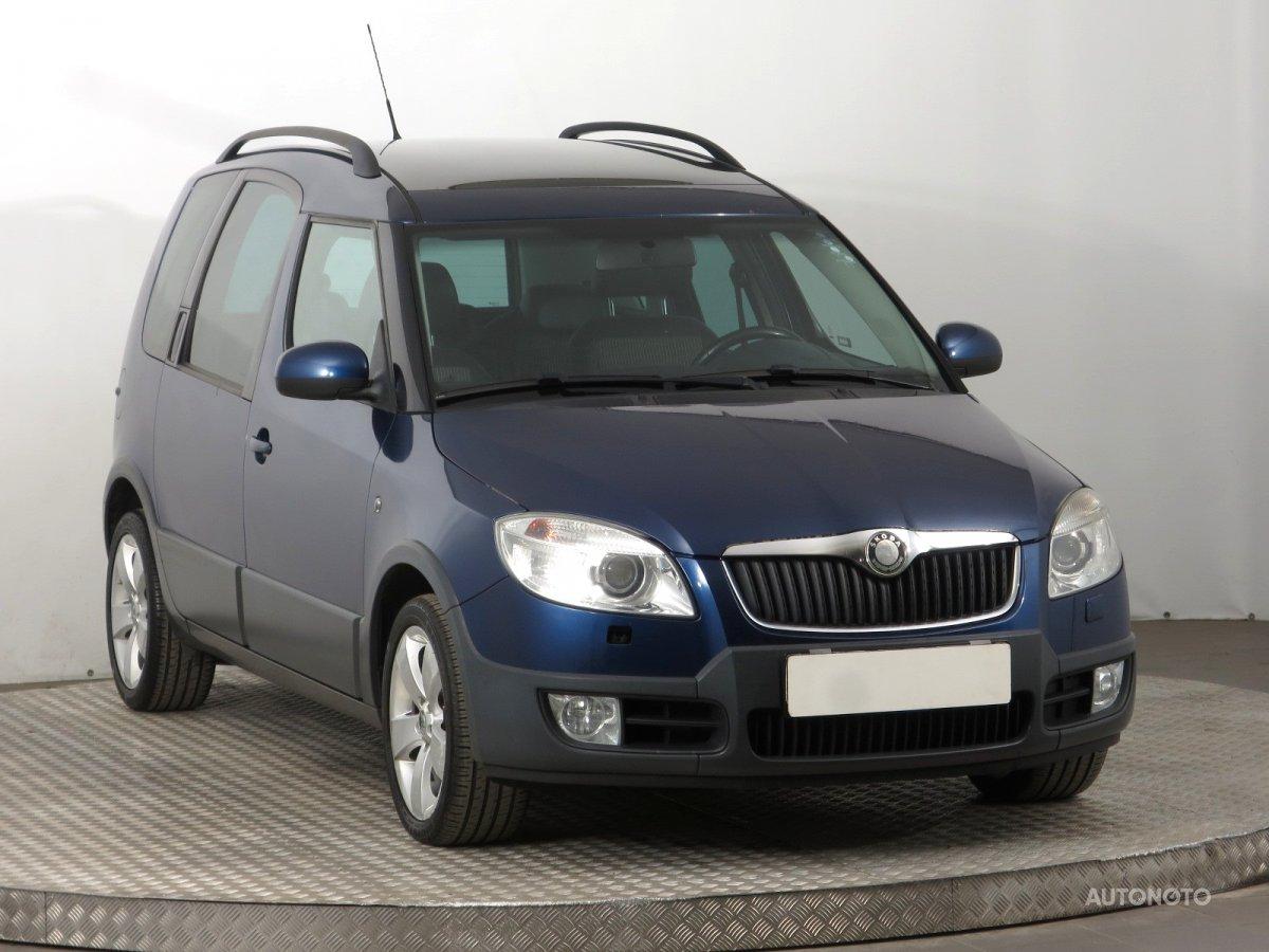 Škoda Roomster, 2008 - celkový pohled