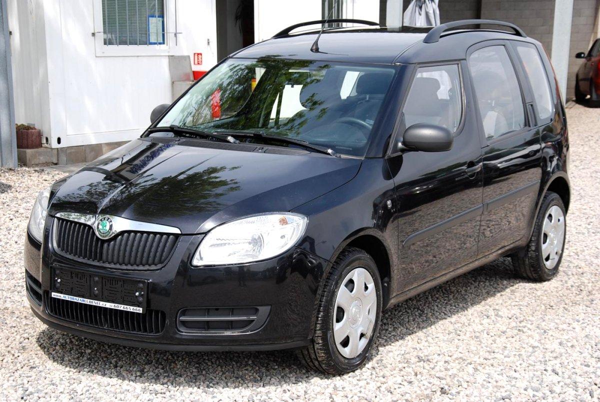 Škoda Roomster, 2009 - celkový pohled